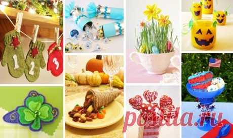 Holiday crafts, quality ideas and fun projects