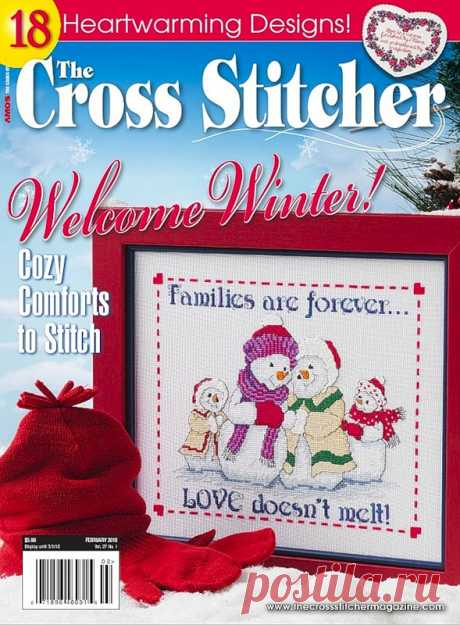 CrossSt USA Feb 2010 - An embroidery (miscellaneous) - Magazines on needlework - the Country of needlework