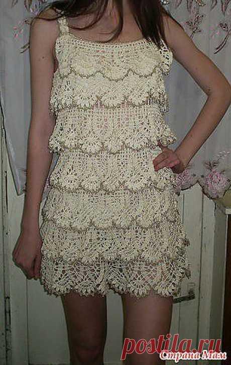 Воздушное платье | Золотые Руки