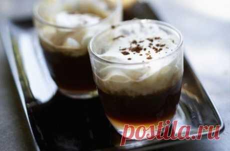 El café bajo en calorías irlandés