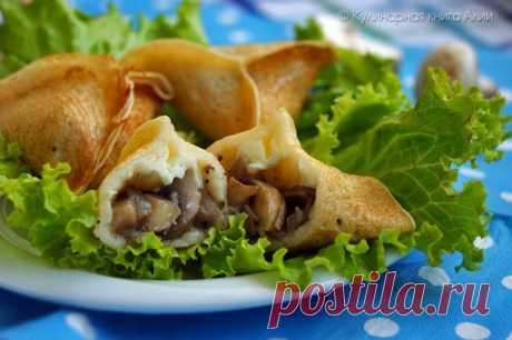 Знакомьтесь с рецептом;)) Блинчики «треугольнички» по-мароккански — Вкусные рецепты