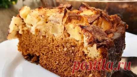 Бомбический Медовый Пирог с яблоками! Так готовила моя Бабушка !