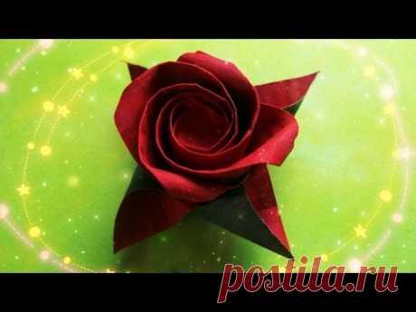 Оригами Роза Masahiro Ichikawa. Как Сделать Розу. Цветы Из Бумаги. Origami Rose - YouTube Роза складывается всего из одного квадрата бумаги - подробный #мастерКласс #розаИзБумаги