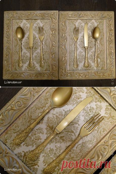 Панно для кухни из столовых приборов | Страна Мастеров