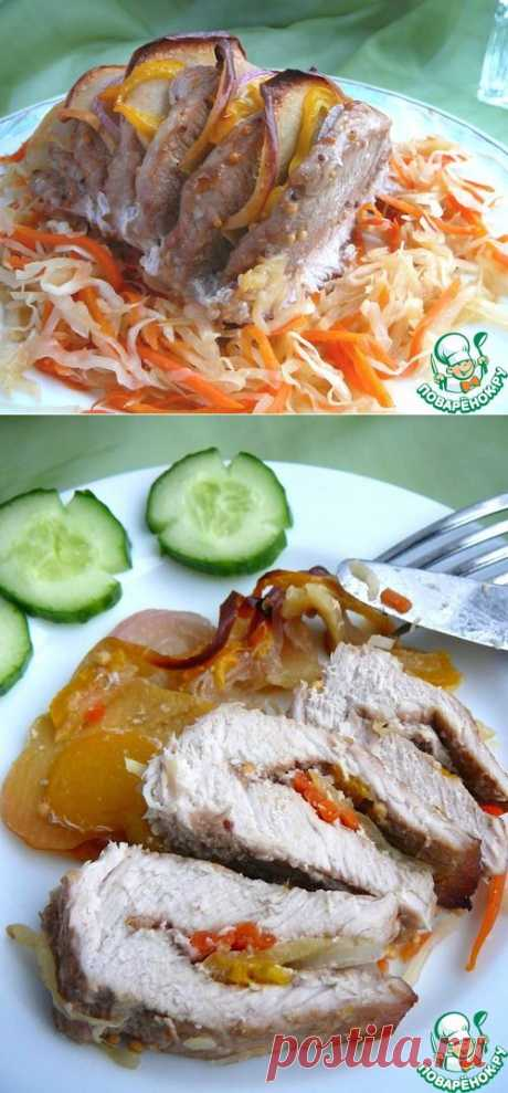 """Свинина """"Сочная"""" с овощами - кулинарный рецепт"""
