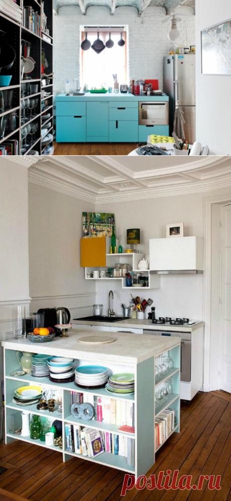 Стильные идеи и практичные решения для дизайна небольшой кухни | Мой дом