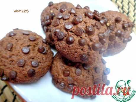 Песочное печенье «Шоколадно – Шоколадное»