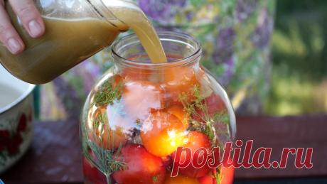 Зимой открыли банку и АХНУЛИ как вкусно! Квашеные помидоры с сахаром как из бочки, без стерилизации (часть 2) | Вкусный рецепт от Людмилы Борщ | Яндекс Дзен