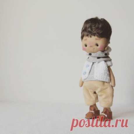 """Авторская кукла """"Мальчик"""" - Кукольная мастерскаяКукольная мастерская"""