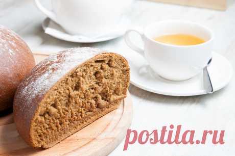 Хлеб ржаной на квасной закваске - Леди Mail.Ru