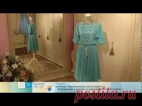 151 - Olga Nikishicheva. A dress from lacy jersey