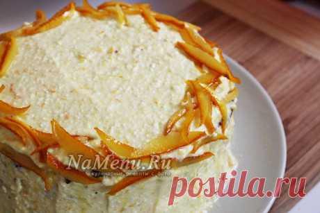 Морковный торт, классический рецепт с фото пошагово