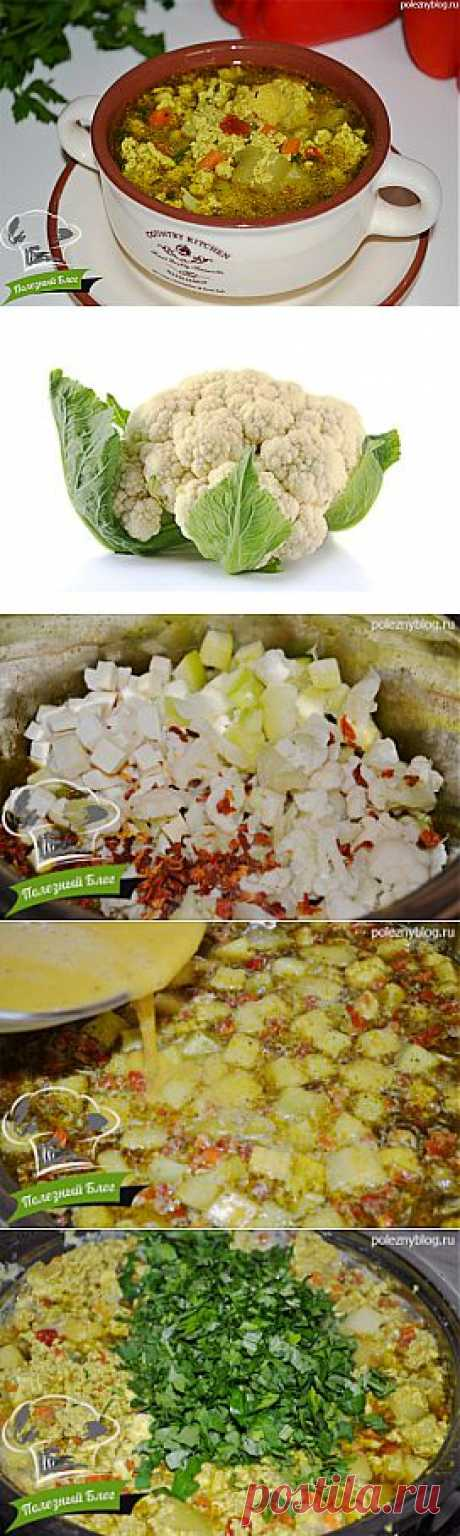 Пошаговый -рецепт овощного супа с яйцом | Первые блюда | Полезный блог | Полезно, красиво, просто, быстро и вкусно