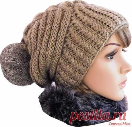 Зимняя шапка по мотивам известного дизайнера Negin Mirsalehi - В.Г.У. - Вязаные Головные Уборы - Страна Мам