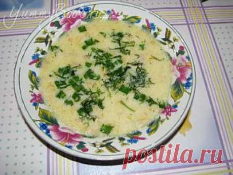 "Сырный суп ""Шустрик"""