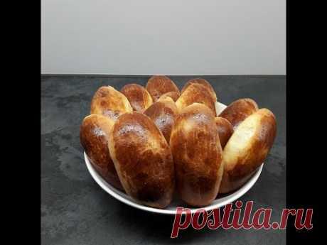 Пирожки на итальянской закваске (Левито Мадре), очень нежное тесто. Пирожки в духовке.