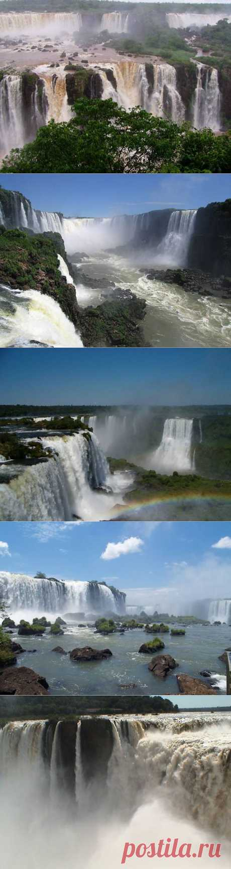 Удивительные водопады Игуасу | УДИВИТЕЛЬНОЕ
