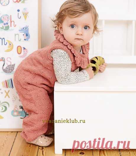 Комбинезон детям 3 - 24 месяца - Комбинезоны для детей - Каталог файлов - Вязание для детей