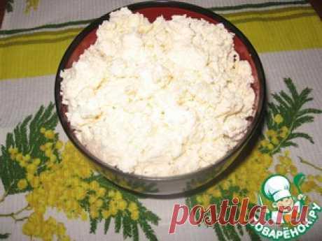 Домашний творог - кулинарный рецепт