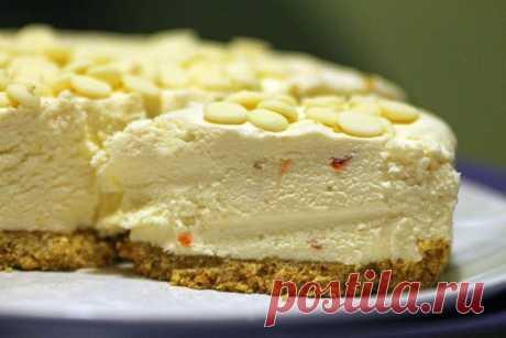 Легкий творожный торт, который точно не отложится на вашей талии!