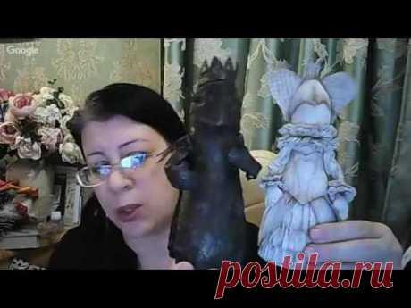 Вебинар.Анастасия Голенева.Шьем и росписываем пряничный домик.