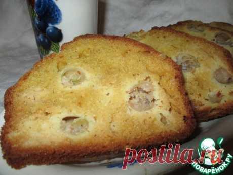 Кукурузный кекс с крыжовником - кулинарный рецепт