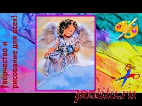 papertol el ángel por las manos