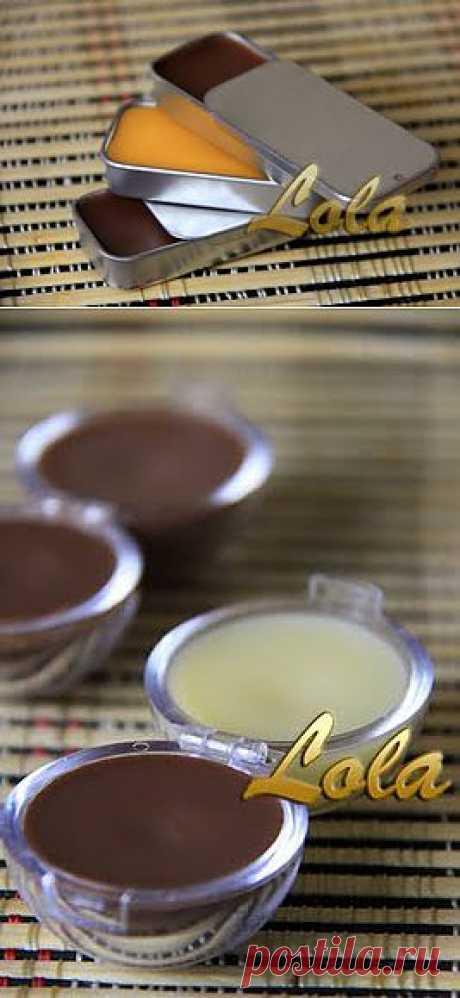 Творческая мастерская: Шоколадный блеск для губ