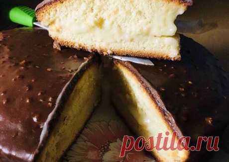 Быстрый торт «Чародейка» - пошаговый рецепт с фото. Автор рецепта Людмила Капранова . - Cookpad