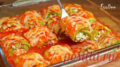 Так КАБАЧКИ Вы еще точно не готовили! Очень вкусный и простой рецепт из кабачков!