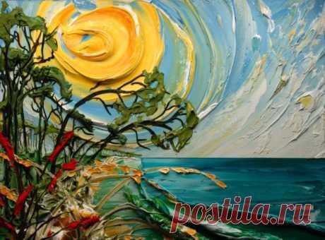 Вдохновение - объемная живопись от Джастина Геффри