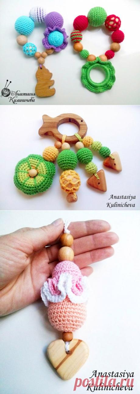 Слингобусы, грызуны, вязаные игрушки для детей