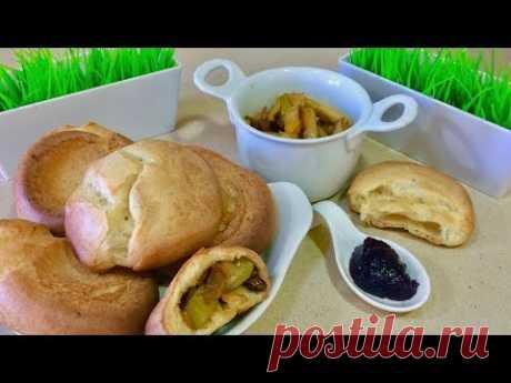Потрясающе вкусная выпечка дутые оладьи или пустые булочки. Рецепт простой выпечки.