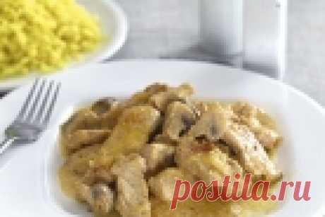 Фрикасе из индейки в мультиварке - рецепт с фото на Повар.ру
