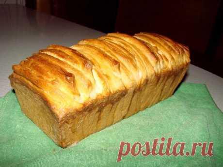 Итальянский молочный хлеб Аккордеон рецепт с фото пошагово - 1000.menu