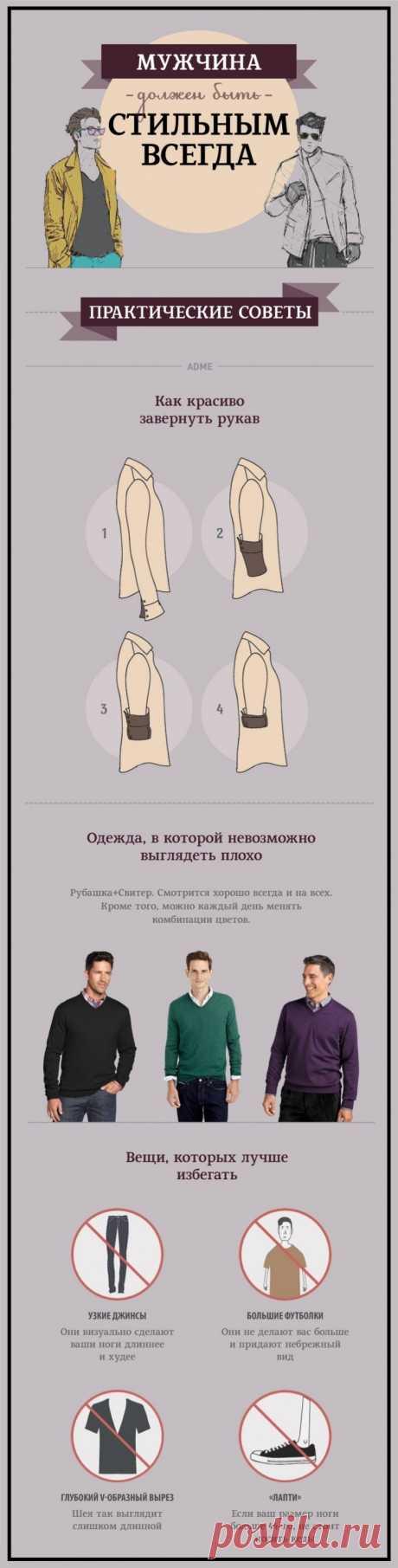 Мужской стиль. Практические советы