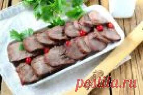 Говяжий язык в духовке - пошаговый рецепт с фото на Повар.ру