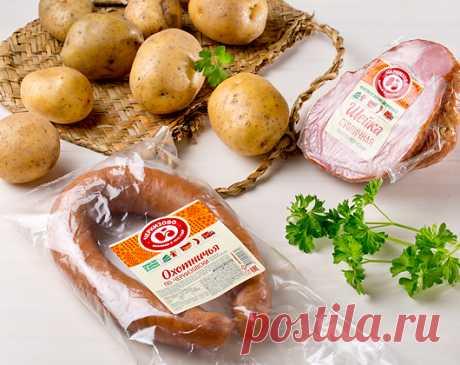 Печеный картофель по-Черкизовски / Простые рецепты