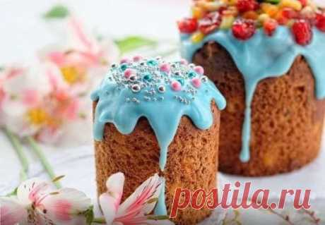 10 most abrupt recipes of easter Easter cakes: from traditional to unusual