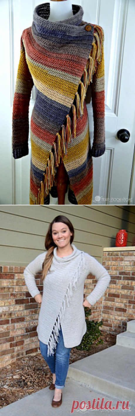 Ravelry: Blanket Cardigan pattern by Ashlea Konecny.idei.