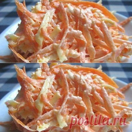 Легкий морковный салат с чесночком: витаминная бомба для тех, кто печется о весе - Женский Журнал