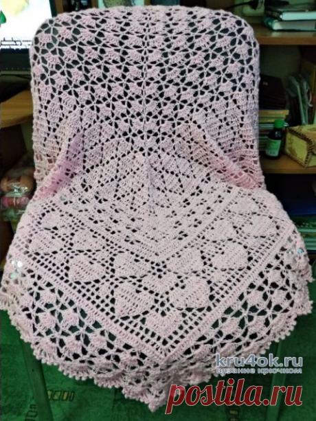 Схемы вязания отличной ШАЛИ крючком | Вязание Крючком | Яндекс Дзен