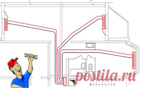 Тепло в доме: Причины, по которым целесообразно применять лучевую систему разводки трубопроводов отопления и водопровода