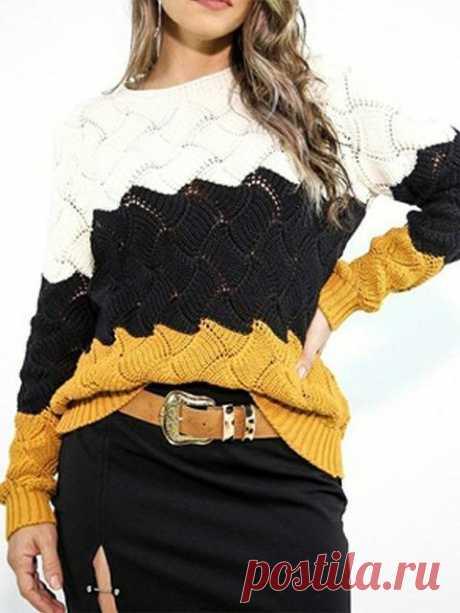 Stylish pullover