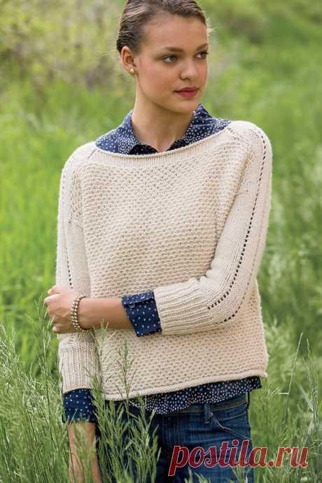 Wheaten Pullover by Joann Rogers - Interweave Knits, Fall 2014.jpeg