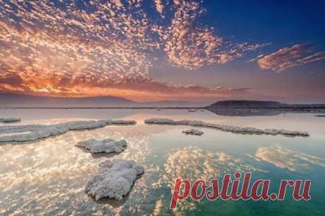 Мертвое море, один из самых удивительных водоемов планеты — курорт, лечебница и аттракцион «в одном — Путешествия
