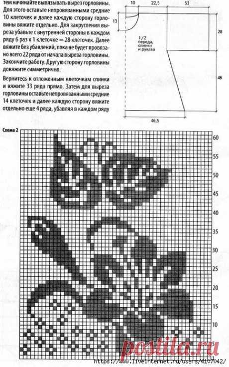 """ЛЕТНЯЯ ТУНИКА """"ЛИЛИЯ"""" В ФИЛЕЙНОЙ ТЕХНИКЕ"""