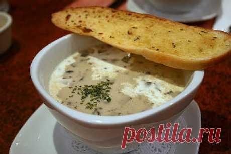 Как приготовить грибной суп с плавленым сыром и курицей - Грибной суп от 1001 ЕДА