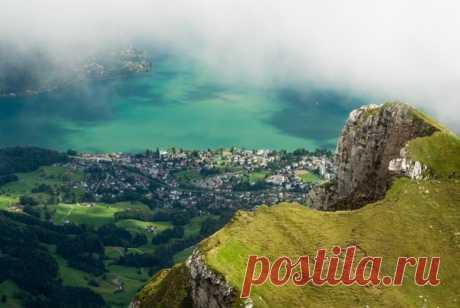 Горный массив Пилатус. Швейцария.