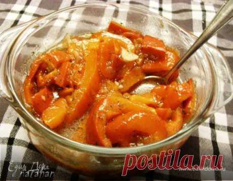 Салат из печёных перцев рецепт 👌 с фото пошаговый | Едим Дома кулинарные рецепты от Юлии Высоцкой